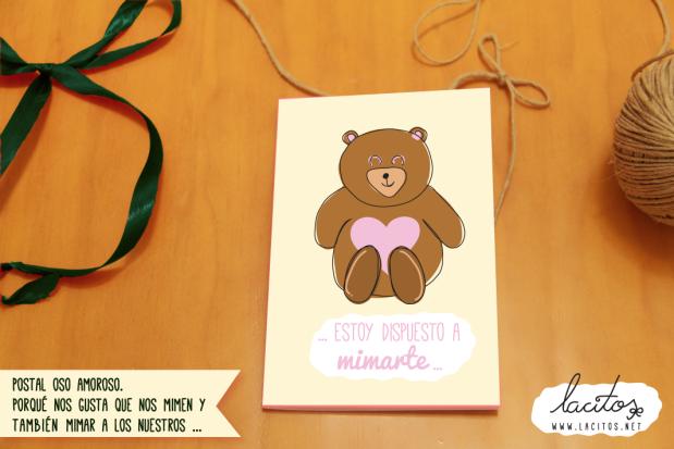 Posta oso amoroso