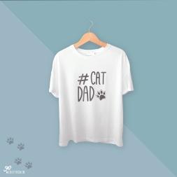 camiseta cat dad